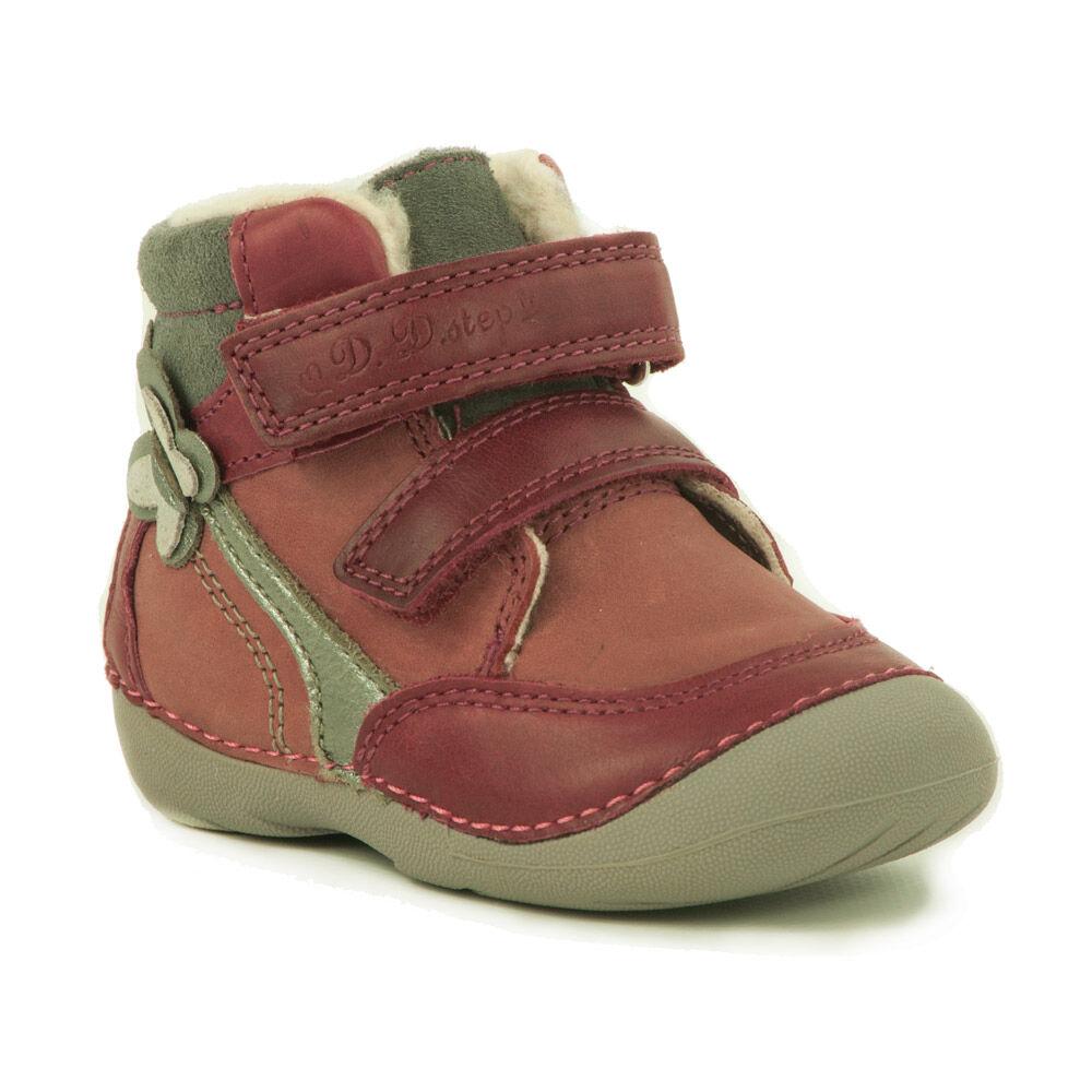 443e7dbf7c D.D. Step Baby Lány Száras Téli Cipő-015-157A - MadeInPapp a CipőWebáruház
