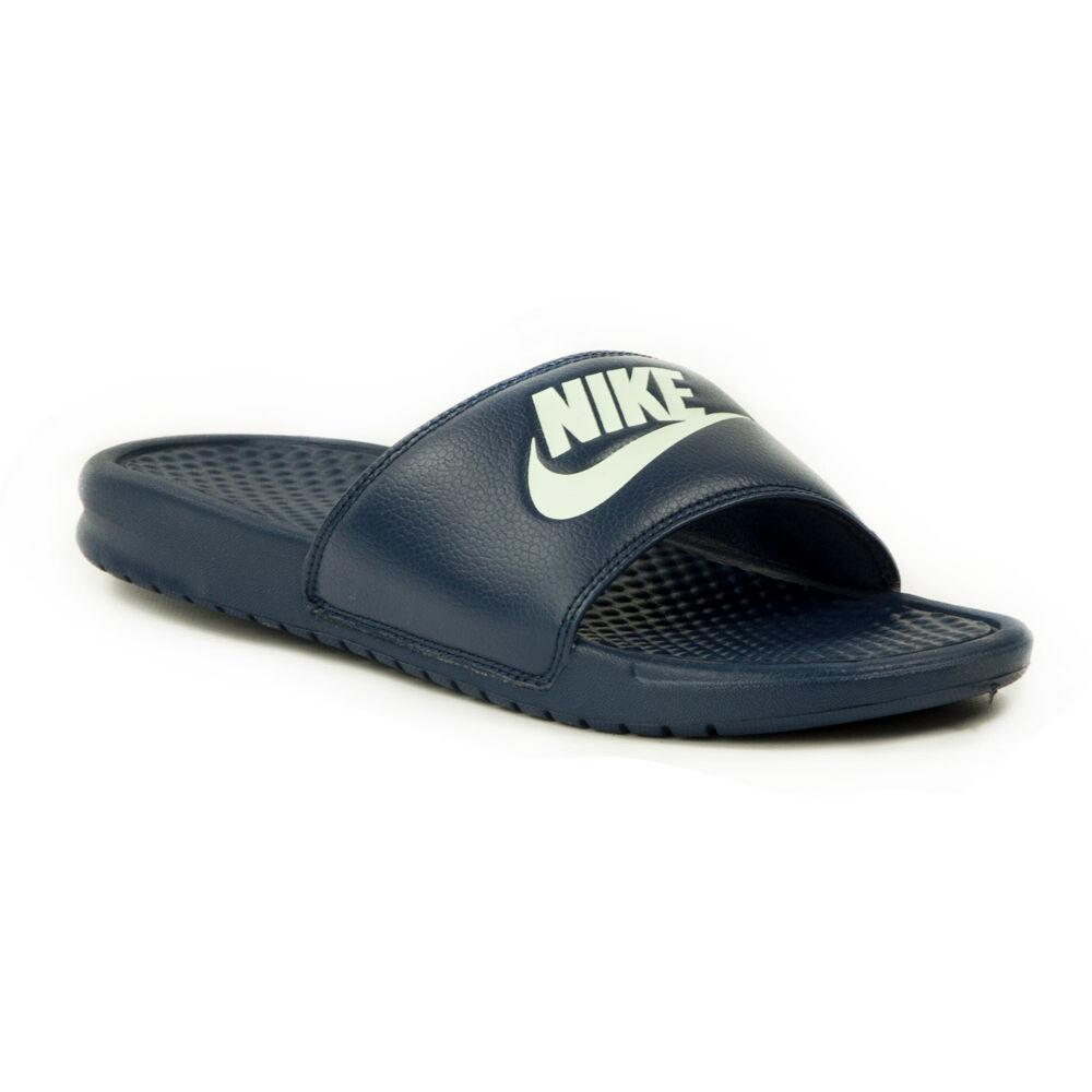0fa43fec16 Nike Benassi JDI Férfi Papucs-343880-403-41-es - MadeInPapp a ...