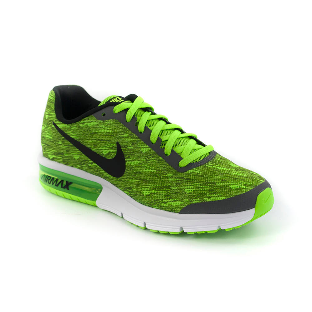 941ba7ccf4 Nike Air Max Sequent Print Gs Junior Fiú Futó Cipő -820329-003 38-as ...