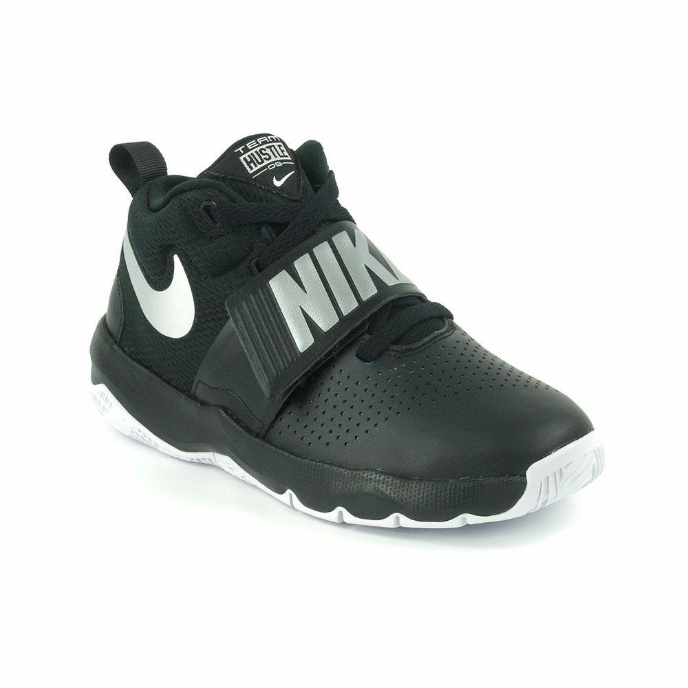Nike Team Hustle Gs Junior Kosárcipő-881941-001 - MadeInPapp a ... adb02699e6