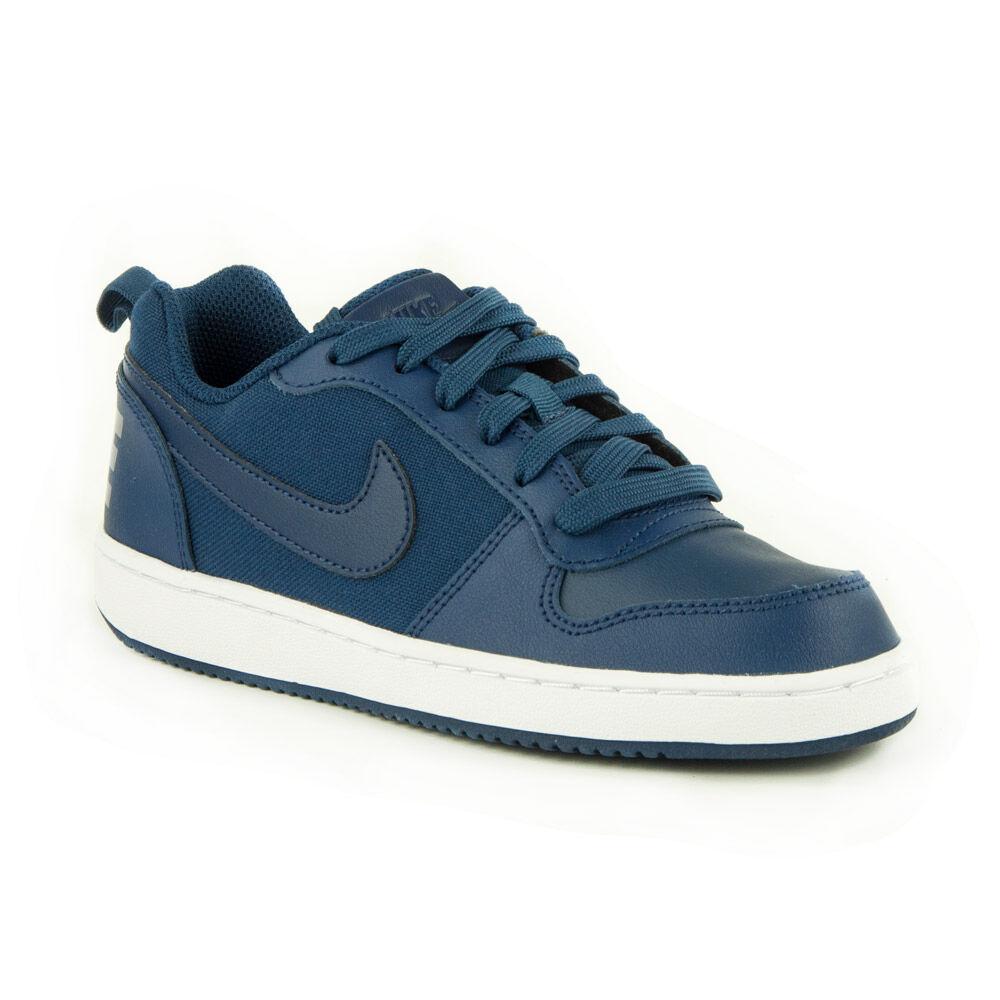 Nike Court Borough Low GS Junior Fiú Utcai Cipő-AA2902-400-36 c41164385c