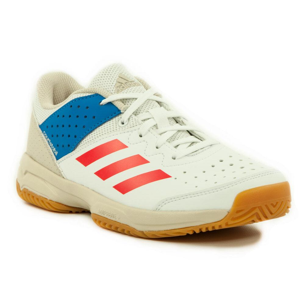 new concept ea5bd 12a0c Adidas Court Stabil Junior Kézilabda Cipő