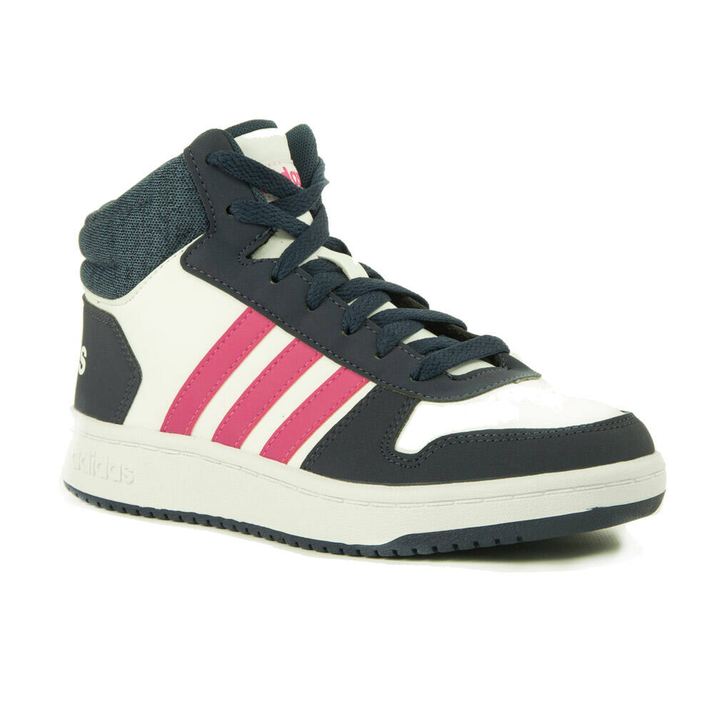 Adidas Neo Hoops Mid 2.0 Lány Száras Cipő-B75746 - MadeInPapp a ... 762ee61b58