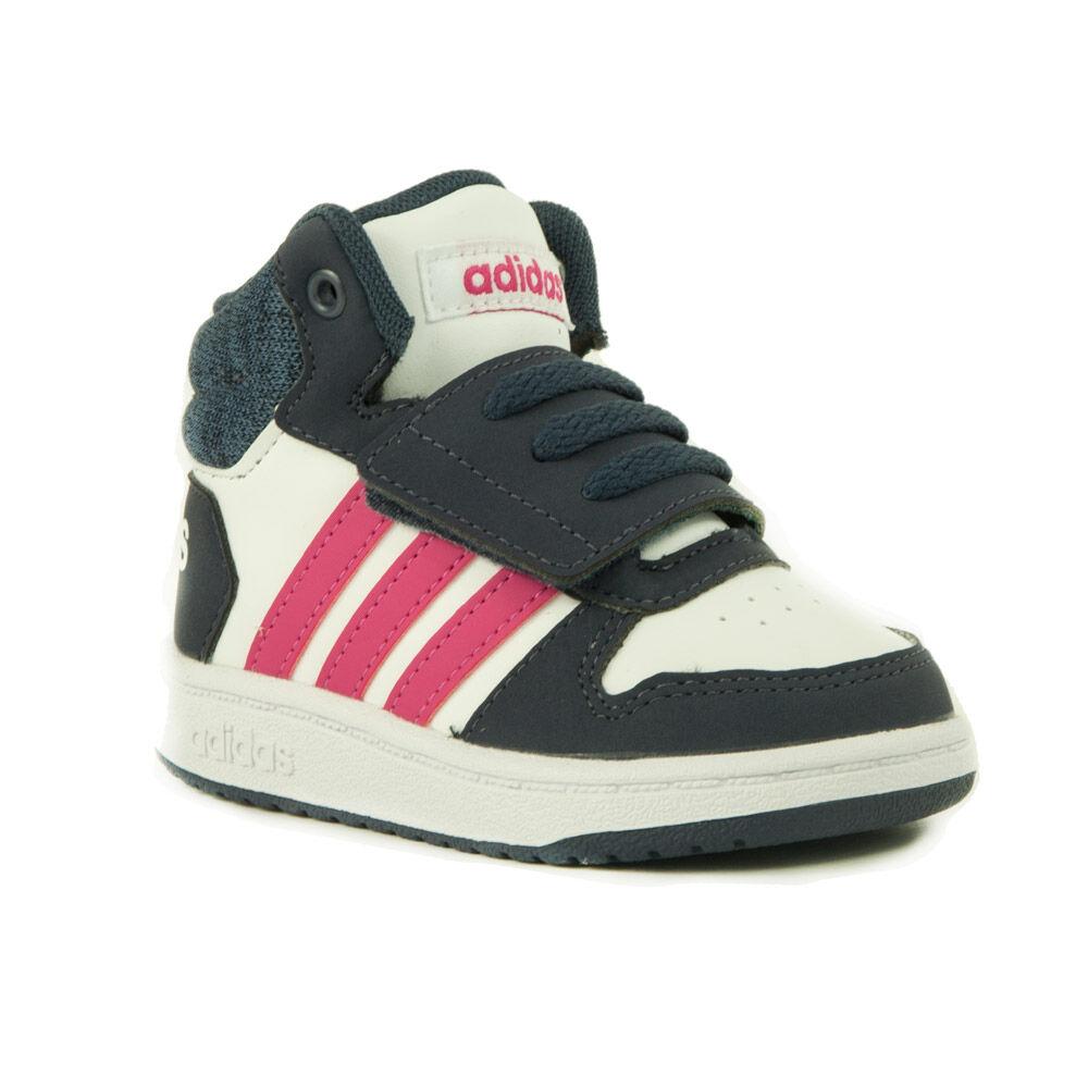 148f06d570 Adidas Neo Hoops Mid 2.0 Lány Száras Cipő-B75948 - MadeInPapp a ...