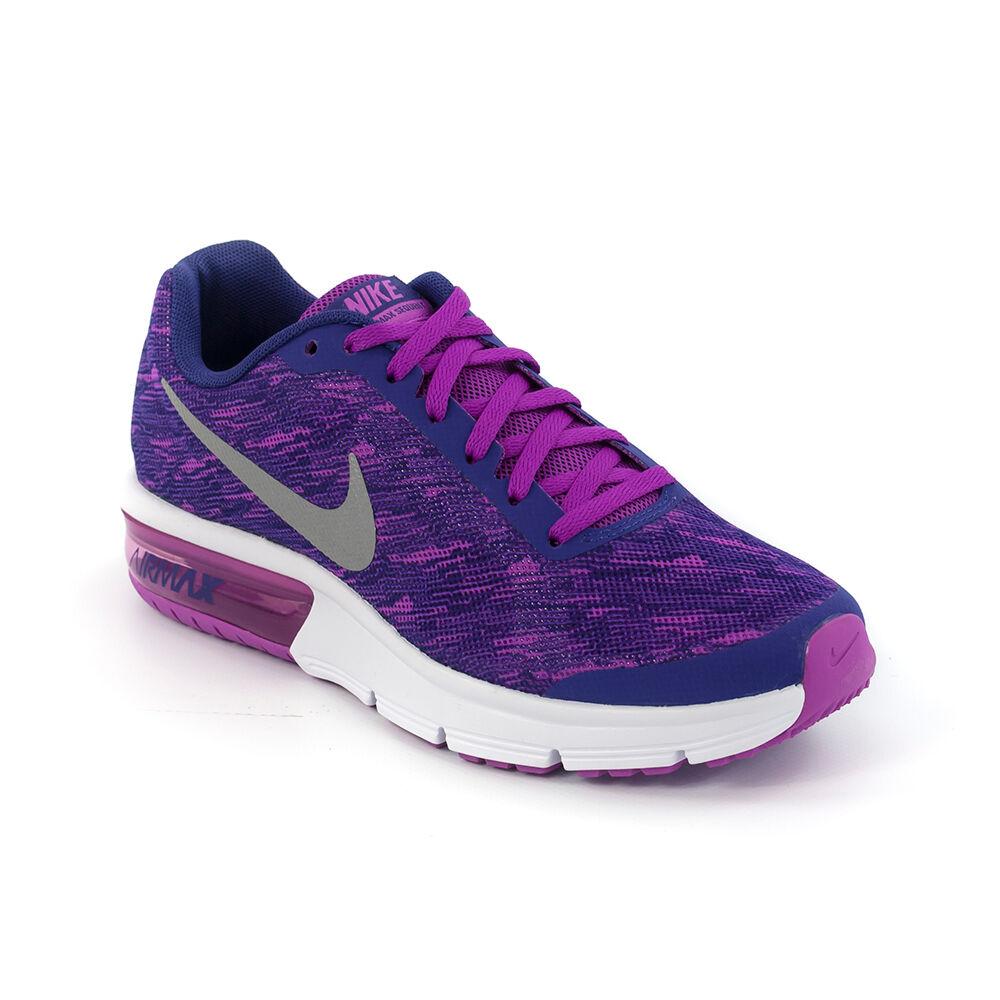 Nike Air Max Sequent Print Gs  Futó Cipő