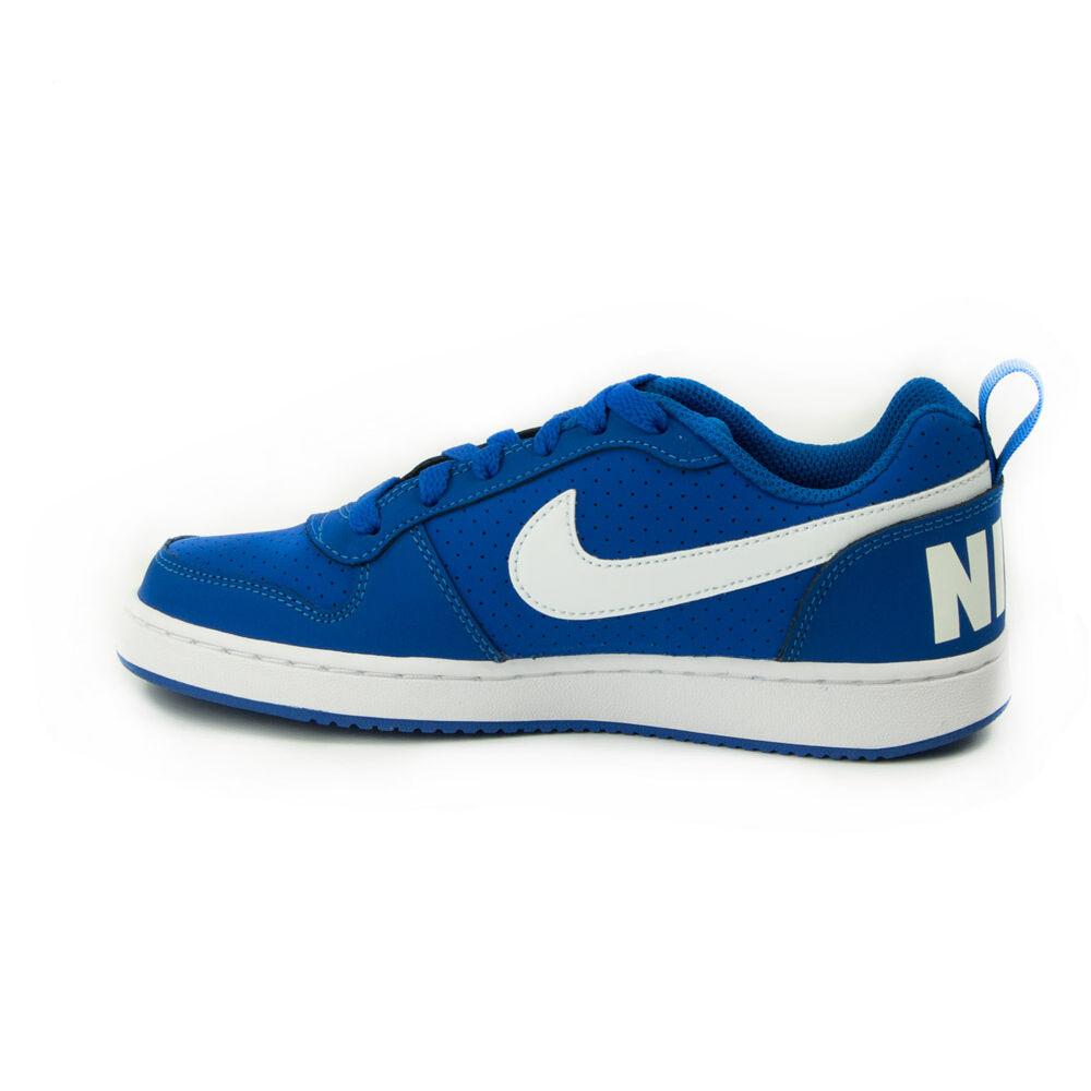 Nike Court Borough Low GS Junior Fiú Utcai Cipő-839985-401-36-os ... 48f64344eb