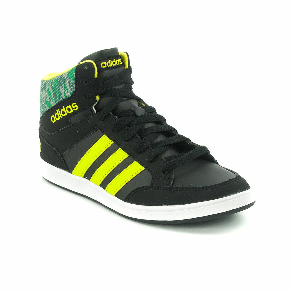 5a558f7fc71d Adidas Neo Hoops Mid K Junior Fiú Száras Cipő-CG5735 38 2/3-os ...