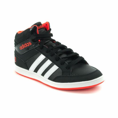 Adidas Hoops Mid Junior Fiú Száras Cipő