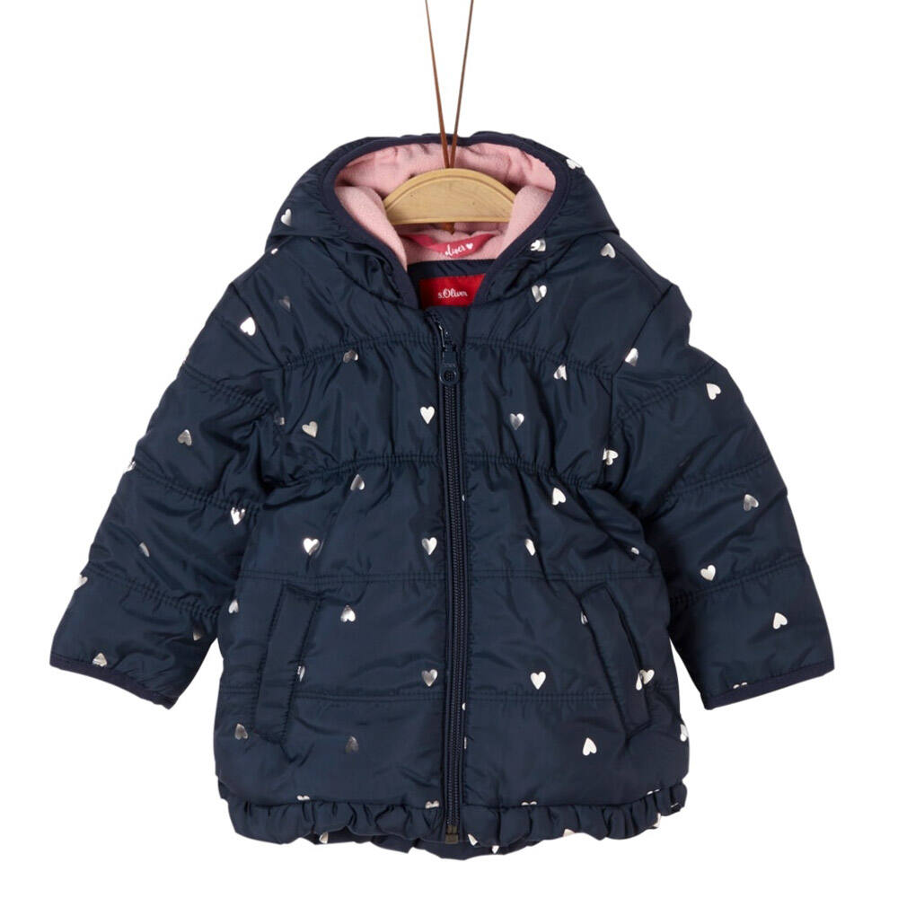 S.Oliver Baby Lány Kapucnis Téli Kabát
