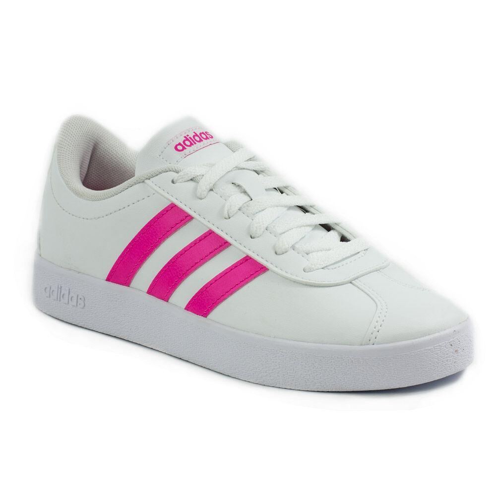 Női Alkalmi Cipő Adidas VL COURT 2.0 Rózsaszín | CsaládoShop