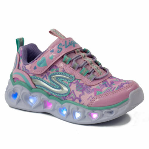 Skechers Gyerek S Lightsn Heart Light Sportcipő