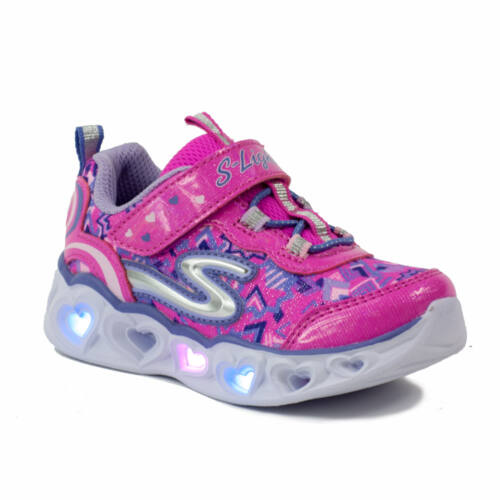 Skechers S Lightsn Heart Light baby Lány Sportcipő
