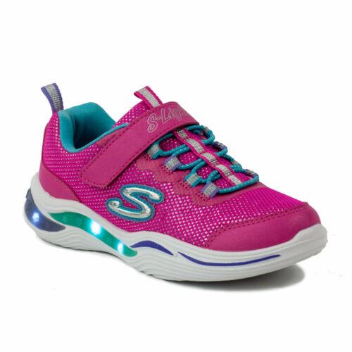 Skechers Gyerek S Light Lány Világító Talpú Sportcipő