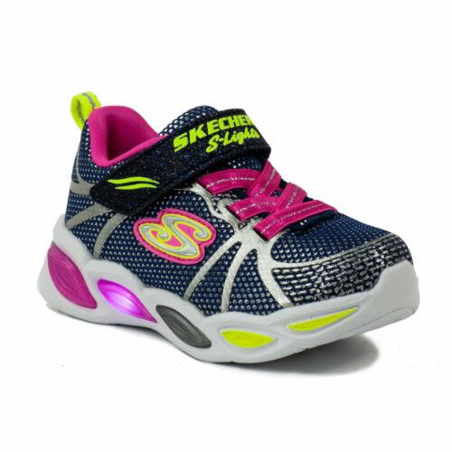 Skechers Gyerek S Light Lány Baby Világító Talpú Sportcipő