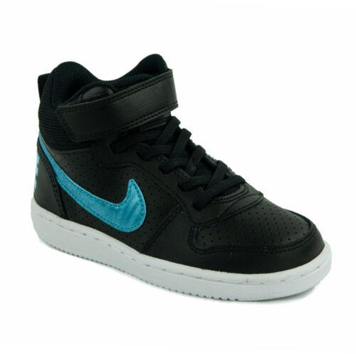 Nike Court Borough Mid Gyerek Lány Száras Cipő